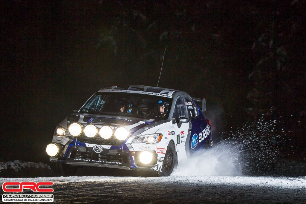 L\'Estage and Ockwell fastest in the night at Big White Rally ...